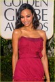 Zoe @ 2010 Golden Globe Awards