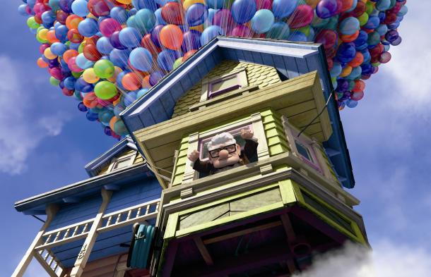 pixar movies up. animated movie up pixar disney