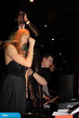 avril lavigne in January 17 - Bank Nightclub, Las Vegas