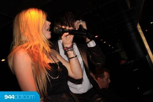 avril lavigne in January 17 - Bank Nightclub, Las Vegas