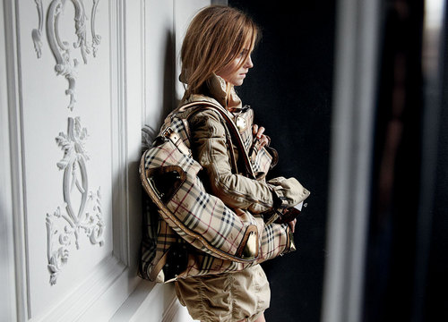 burberry behind scenes