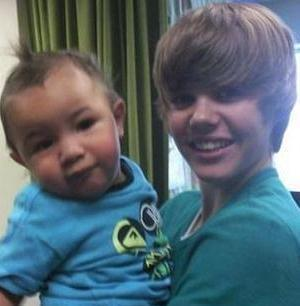 i actually no joke took this image in a hotel where me,justin his dads side of the family and jaxon