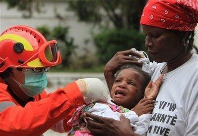lets pray for Haiti