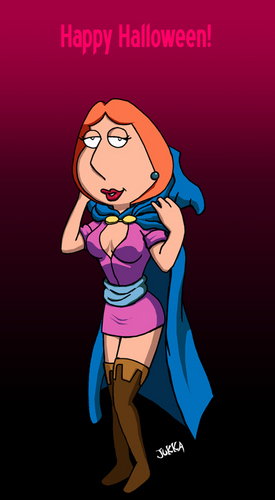 Family Guy Hintergrund entitled lois happy Halloween