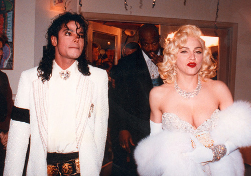 Madonna and michael