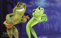 princess tiana & prince naveen (princess & frog) - the-princess-and-the-frog wallpaper