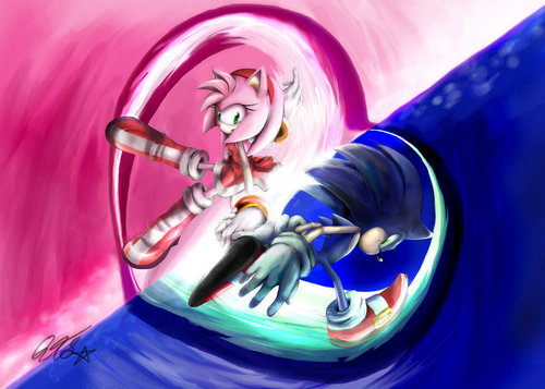 sonic&amy opan your puso