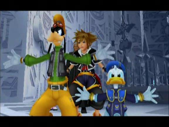 kingdom hearts where to meet donald and goofy