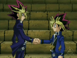 do kaiba and yugi become friends before dating