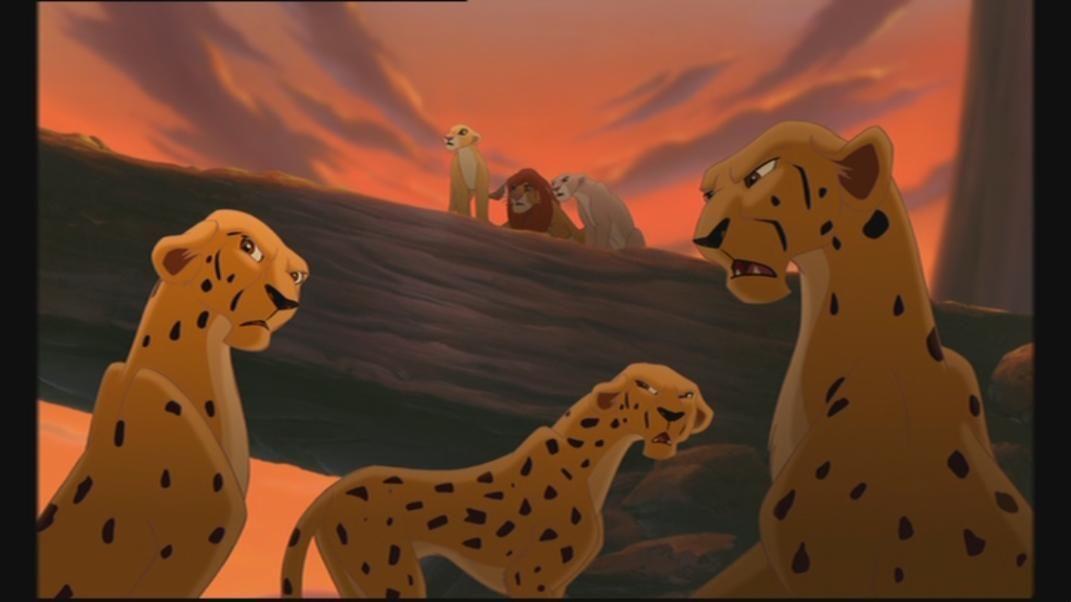 Lion king cheetah puppet - photo#23
