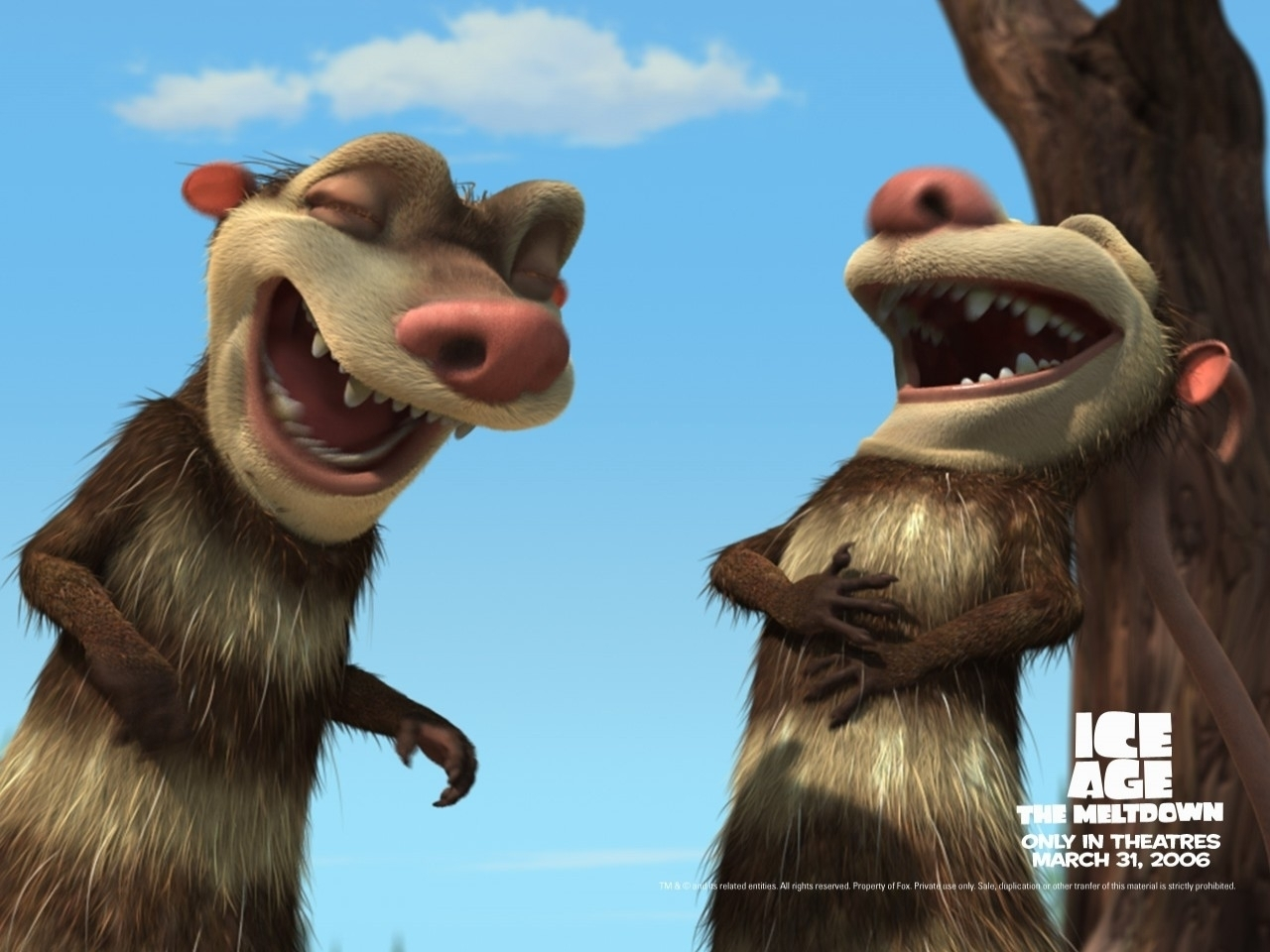Ice Age 2 Movie Characters Ice Age 2 The Meltdown Who 39 s