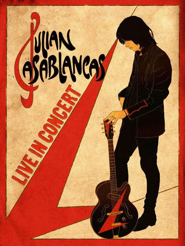 Julian Casablancas Phrazes For The Young Poster
