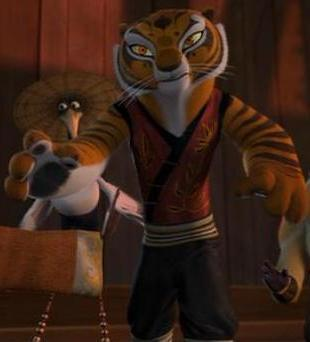 What do you say to tigress singing sometime poll results - Singe kung fu panda ...