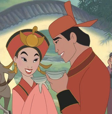 shang and mulan kiss  view original image )