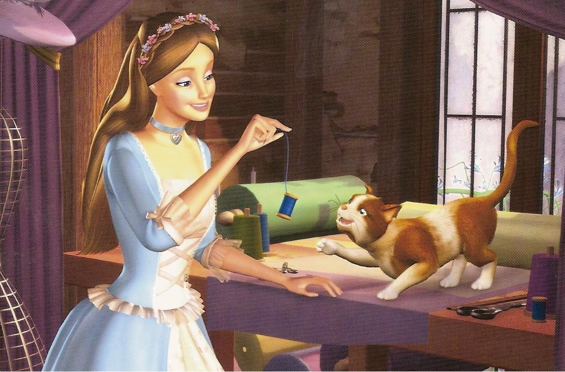 Who Is Your Favorite Charcter In Barbie As The Princess Princess Anneliese And Erika From