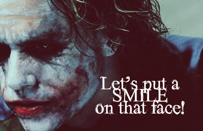 Joker Love Quotes : Favourite Quote? Round 7 Poll Results - The Joker - Fanpop