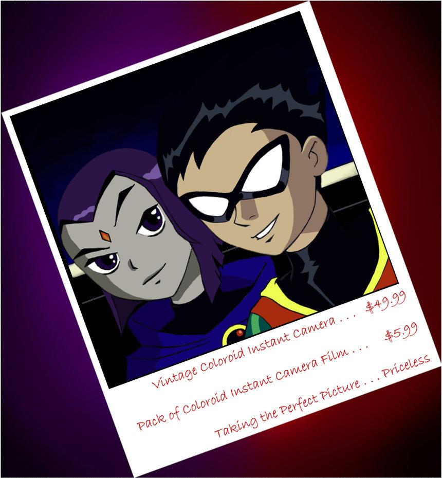 Teen Titans Robin Raven 77