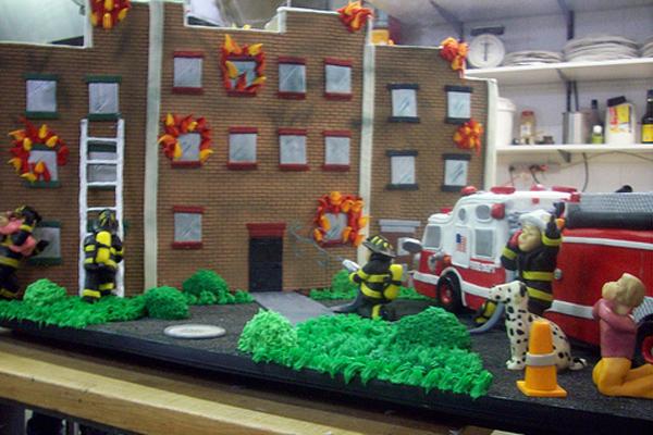 Firemen's cake