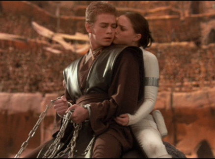 from Charlie padme and anakin nude