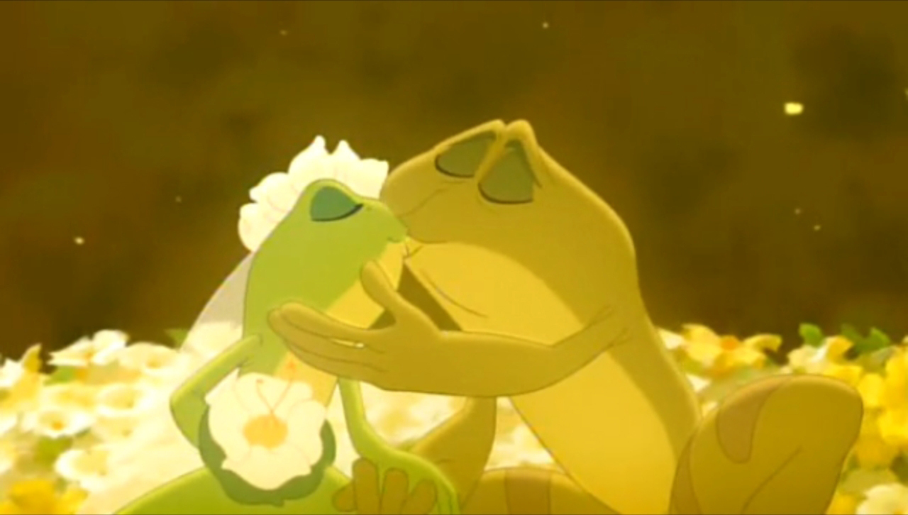 Favorite Tiana & Naveen Kiss? - The Princess and the Frog - Fanpop
