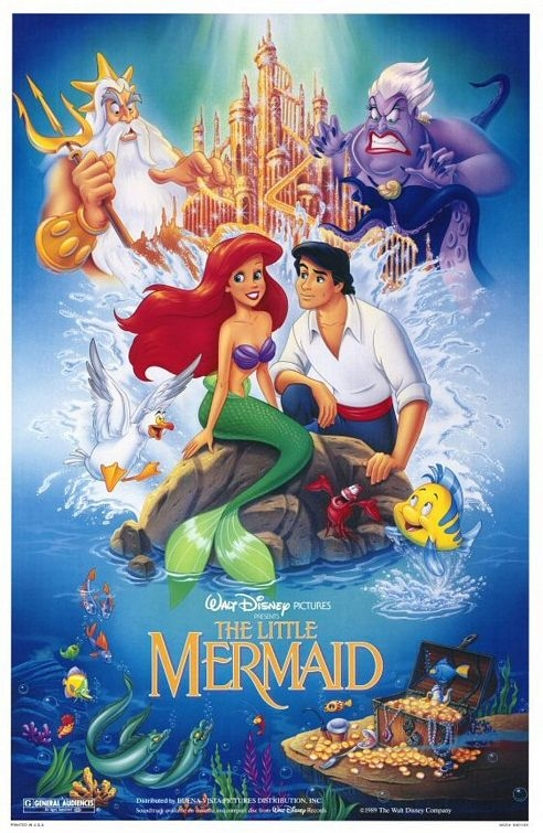 VHS vs DVD cover: the Little Mermaid Poll Results - Disney ...