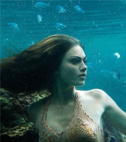 Selena Gomez As A Mermaid