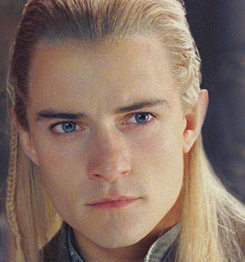 The colour of Legolas's eyes keeps changing in the movies ...