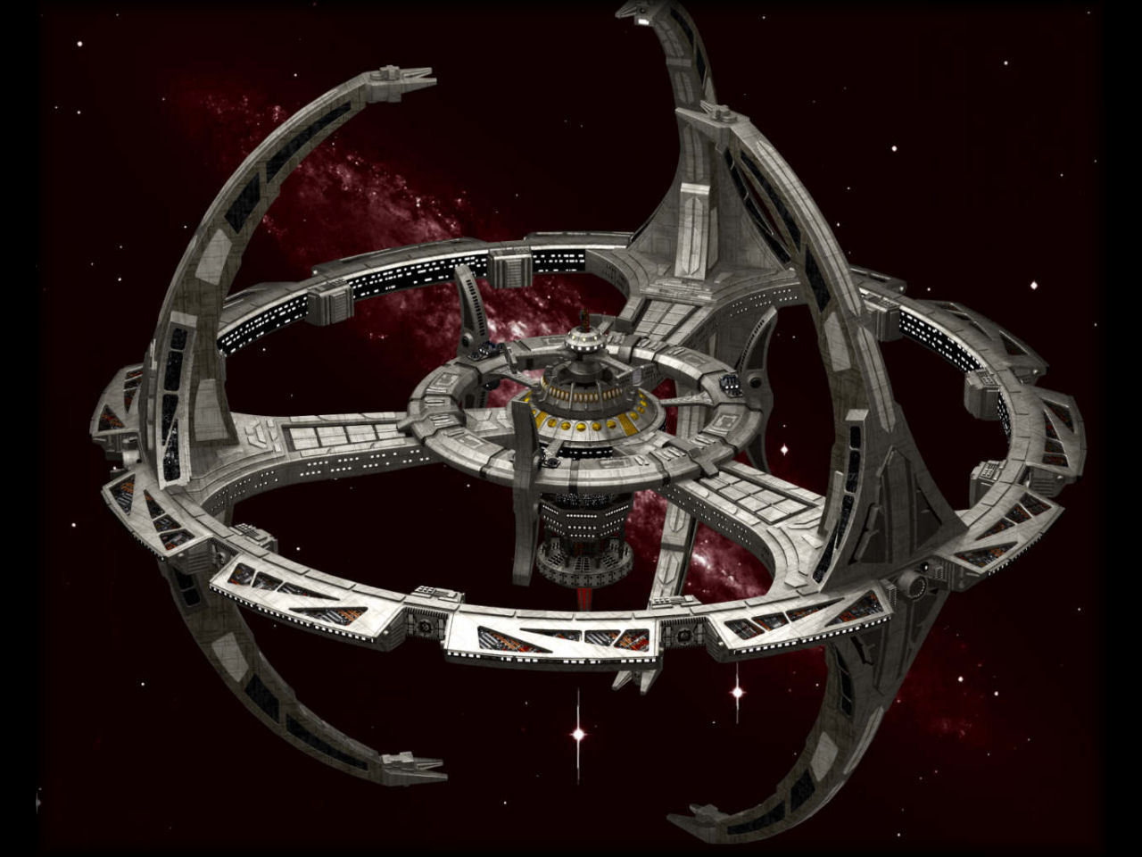 Star trek fans the best sci fi space station