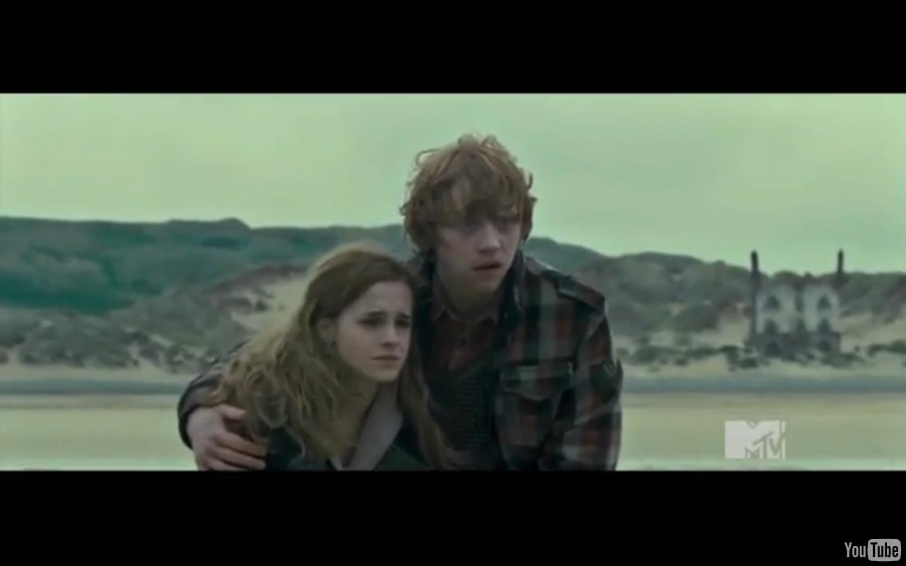 Harry Ron And Hermione Hugging Harry Potter Ron/hermione Hug