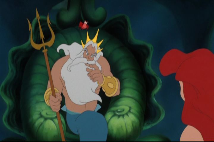 nevermedia king triton is an oppressive dictator and an abusive father