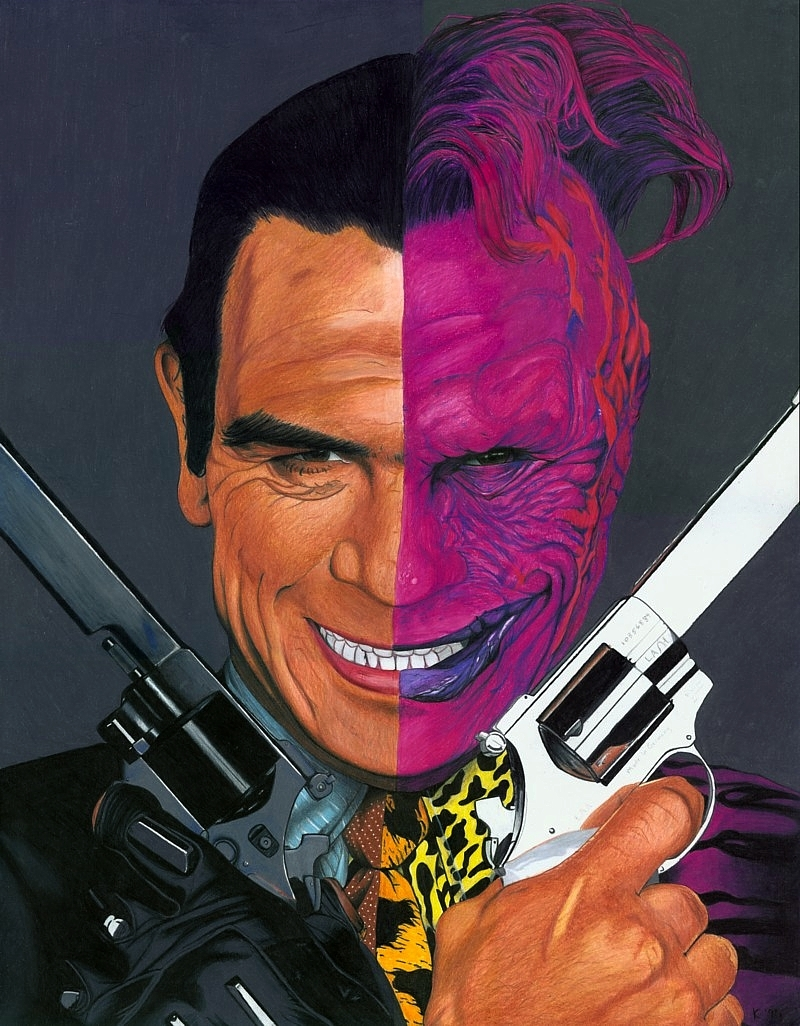 Twoface vs the joker