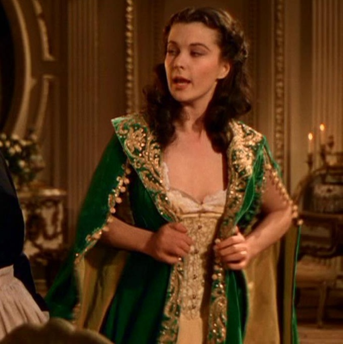 Which robe do you prefer poll results gone with the for Who played scarlett in gone with the wind