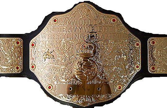 WWEShop - WWE World Heavyweight Championship Commemorative Title Belt