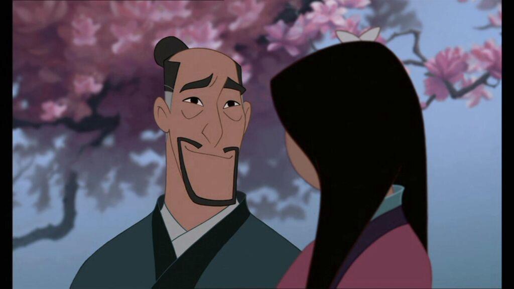 Mulan and Fa Zhou   My, my, what beautiful blossoms we