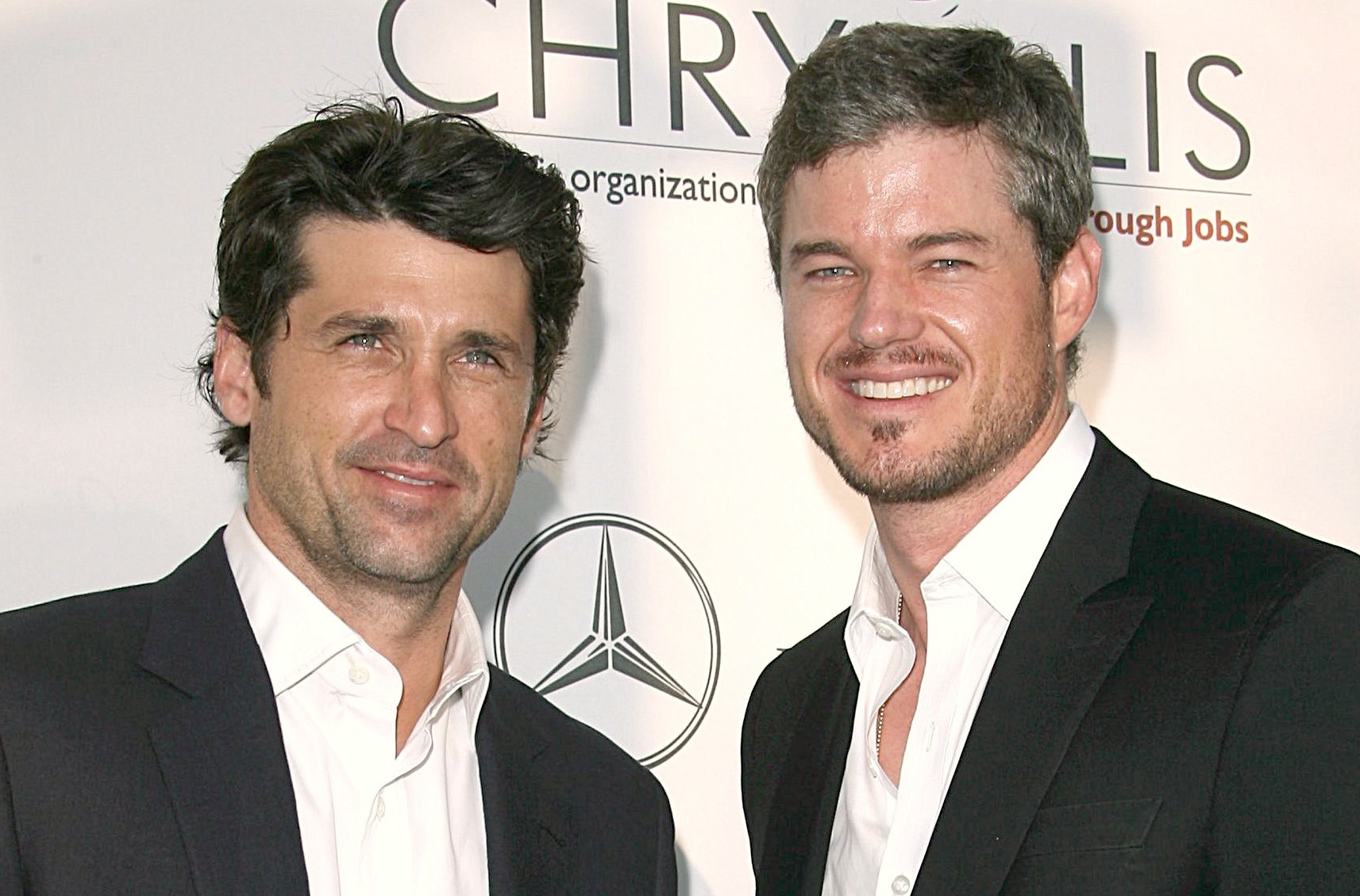 Photo of Eric Dane & his friend actor   Patrick Dempsey - Grey