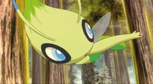 Favourite Legendary From Pokemon 4ever Celebi Voice Of The Forest Legendary Pokemon Fanpop