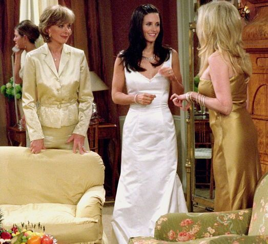 The Nicest Monica's Wedding Dress Was... Poll Results