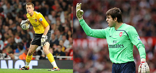 T/F: Arsenal goalkeepers Lukasz Fabianski and Wojciech Szczesny have the same birthday.