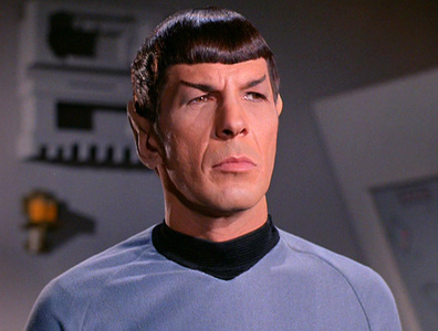 Mr. Spock's serial number is: