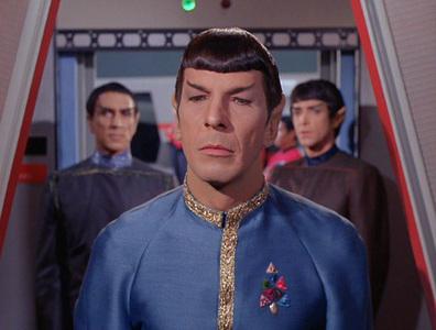Mr. Spock's serial number is: