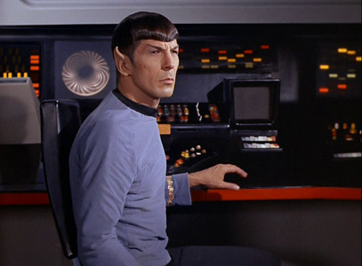 Mr. Spock was the first Vulcan to serve in Starfleet