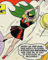 Historically (not by continuity) who was the first Bat-Girl in the early 60's?