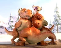 Ice Age Baby Dinosaurs The baby dino s names are
