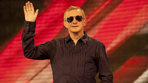 Which category does Louis Walsh have on The X Factor 2009?