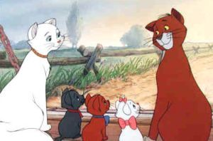 The setting of Aristocats is laid in...