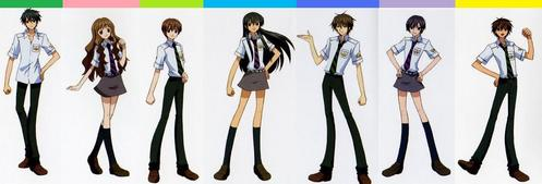 What episode did the S.a. students first wore their Summer uniform?