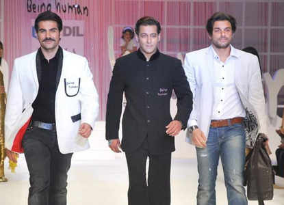 True or False: Salman is younger than his two brothers, Arbaaz and Sohail.