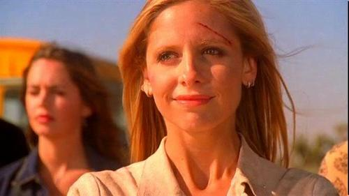 What was the last thing Buffy dicho in Chosen?