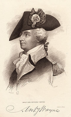 "The general and statesman ""Mad"" Anthony Wayne was the inspiration for Batman's lastname?"