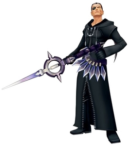 In 358/2 Days, Xigbar sees Xion as ______ for a scene.